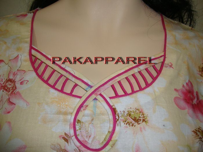 Kurthi neck pattern ideas