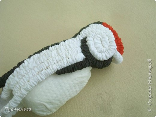 make woodpecker from paper