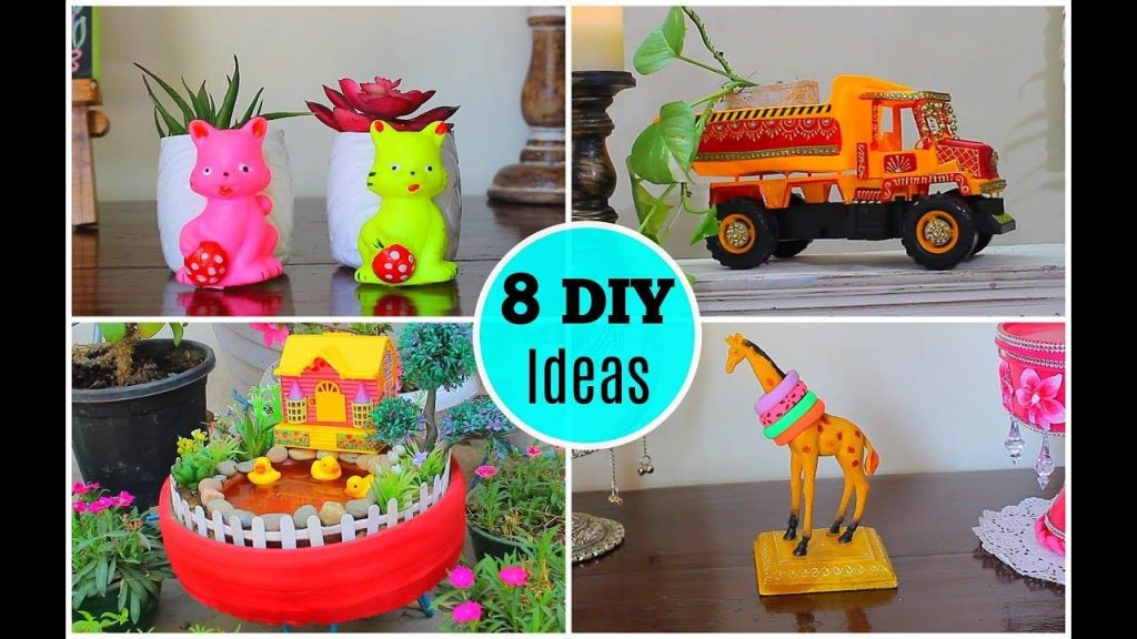 8 Great ideas to use old toys for home decor26