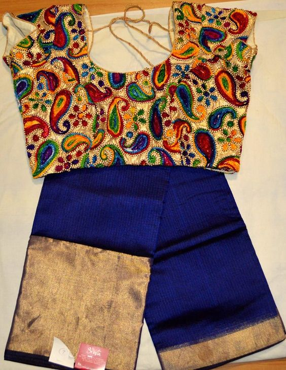 Designer cutting blouse neck designs, ideas and patterns8