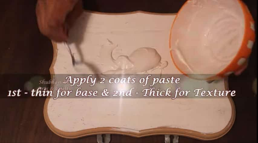 How to make a wall hanging from clay2