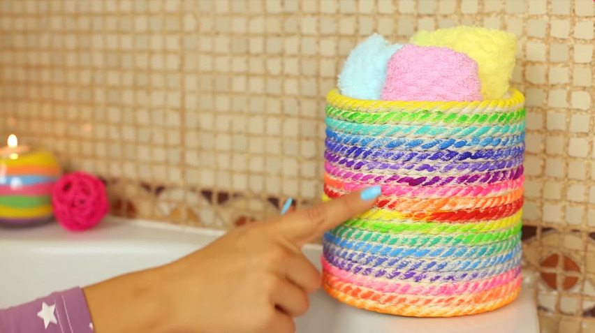 How to make cute navy bathroom decorations42