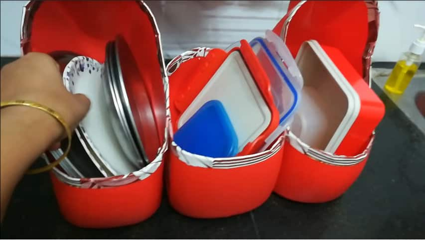 How to make multipurpose kitchen organizer12