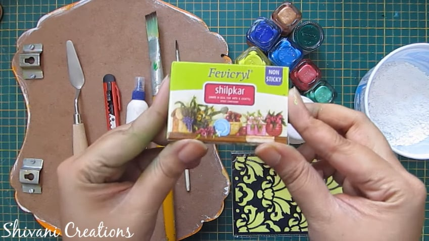How to make nameplate at home2