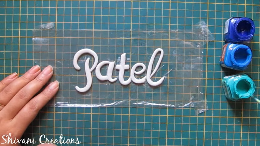 How to make nameplate at home33