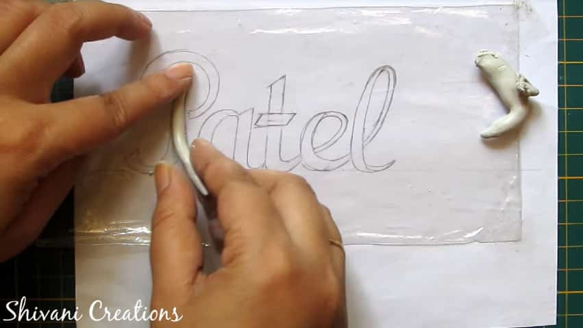 How to make nameplate at home6