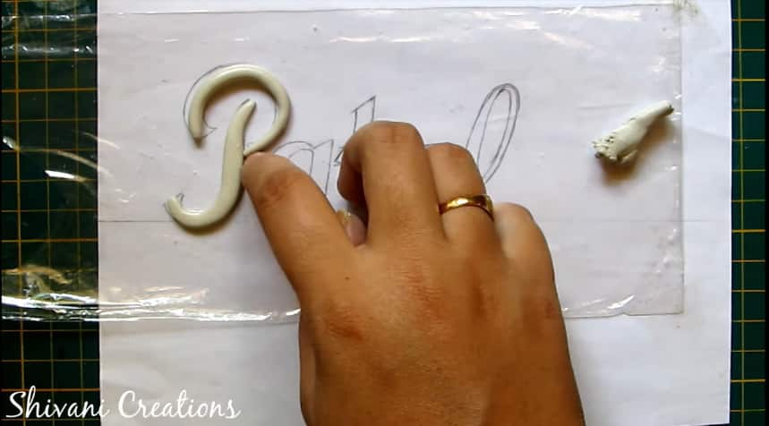 How to make nameplate at home7