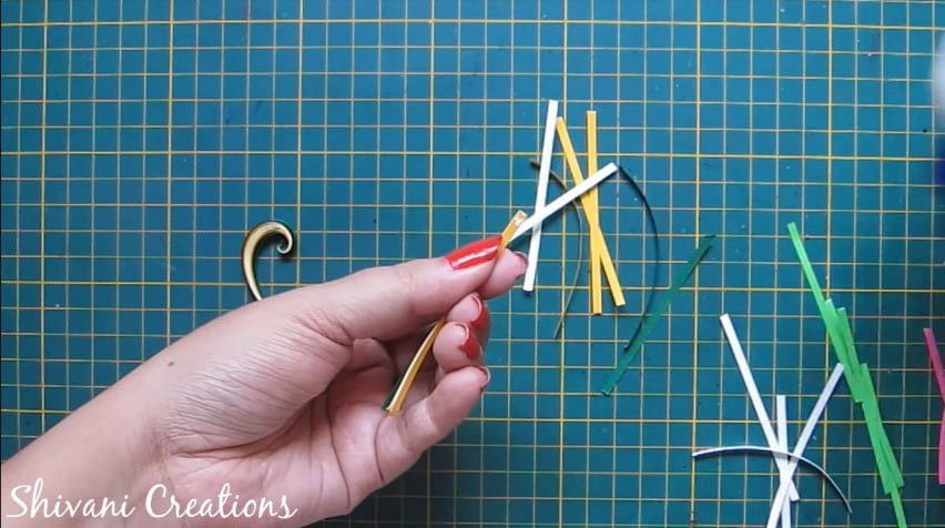 How to make quilling wall mirror24