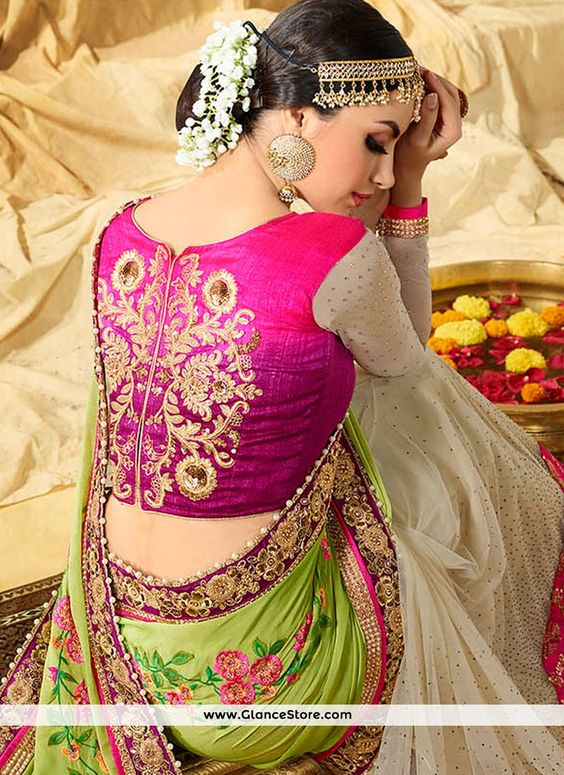 Trendy-silk-saree-blouse-designs-18