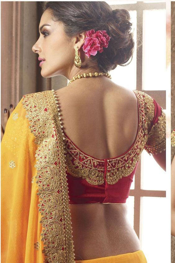 Trendy-silk-saree-blouse-designs-5