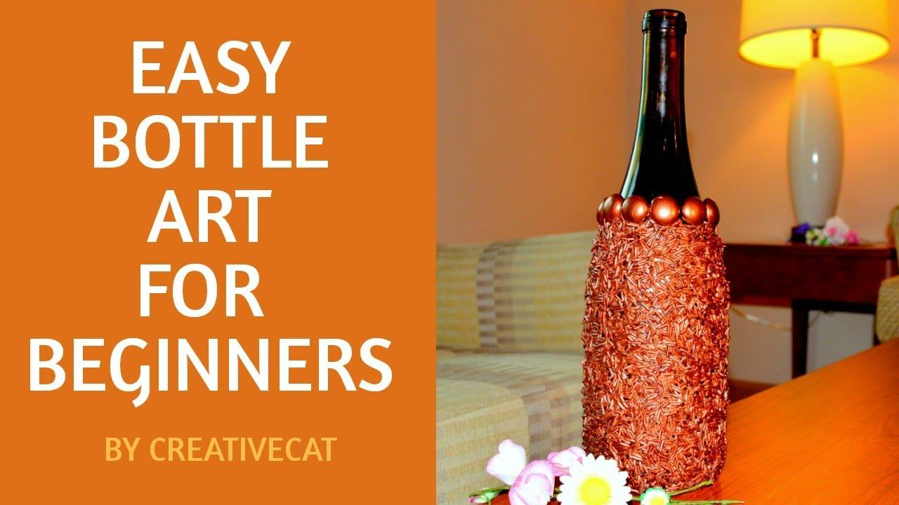 Easy bottle art for beginners10