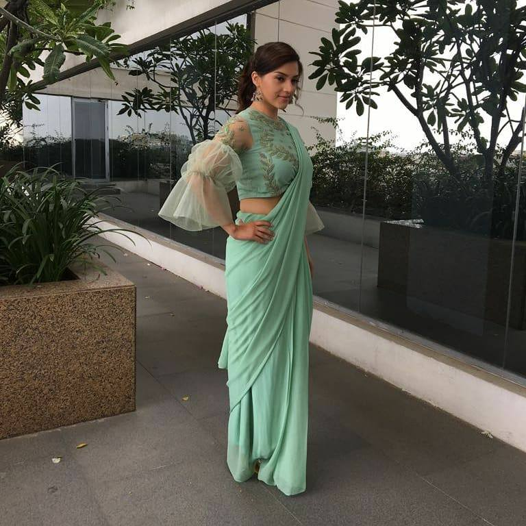 Fancy designer blouse for party wear sarees4
