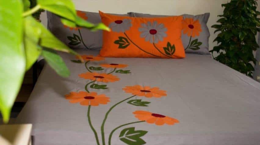 Handmade bed sheet and pillow covers1