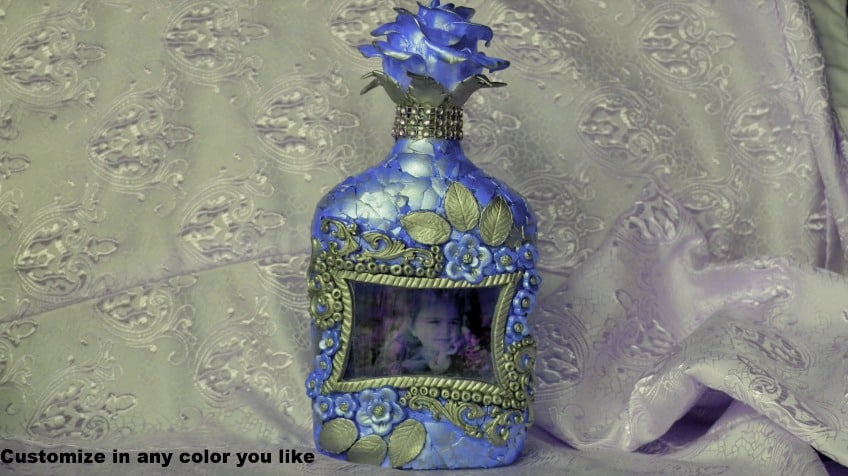 How to do bottle art with customized photo2