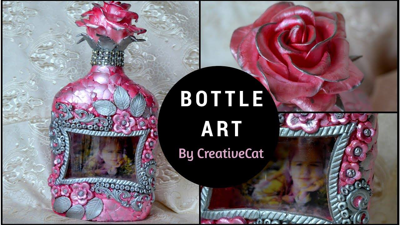 How to do bottle art with customized photo4