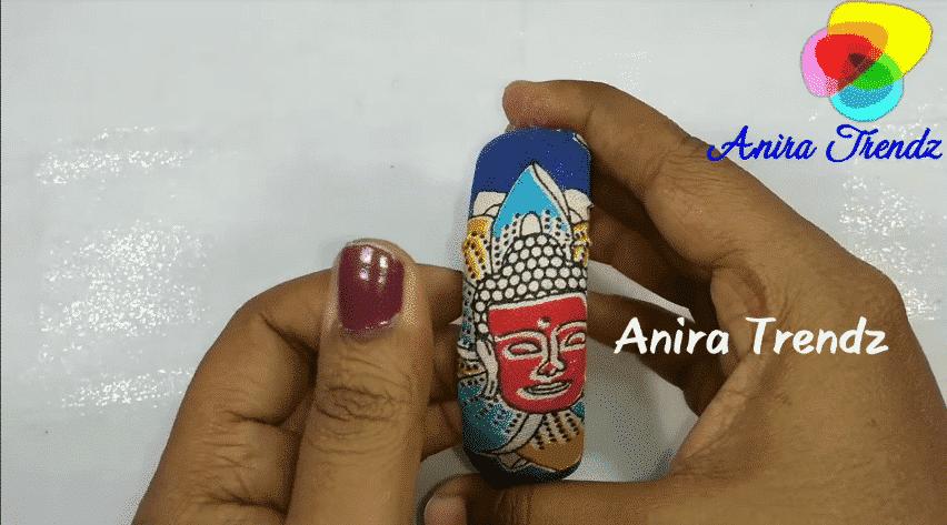 How to make Kalamkari bangle15