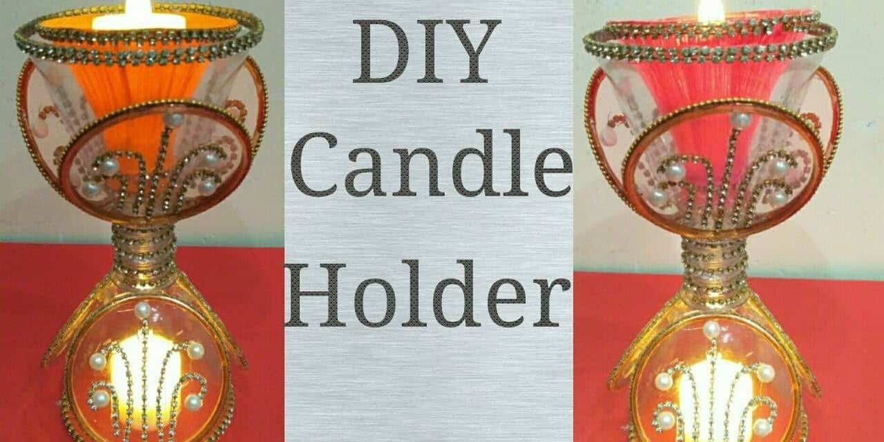 How To Make A Candle Holder From Plastic Bottle Get Easy Art And Craft Ideas