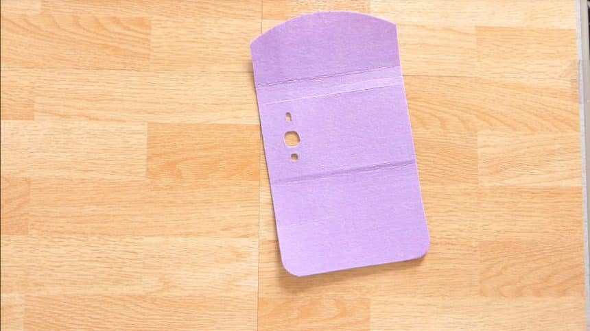 How to make mobile cover at home11