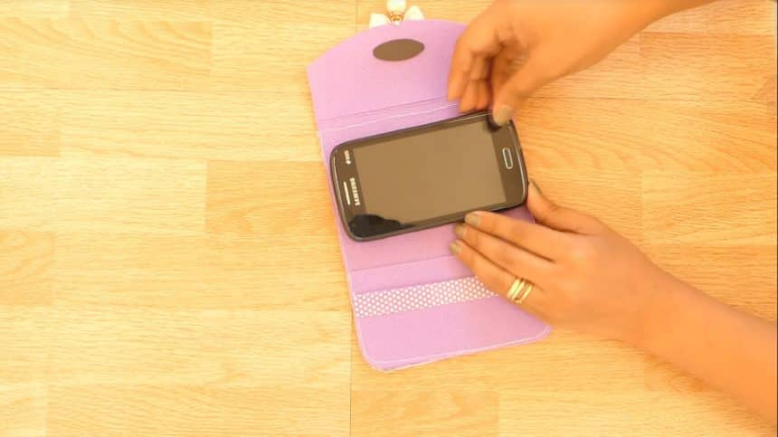 How to make mobile cover at home26