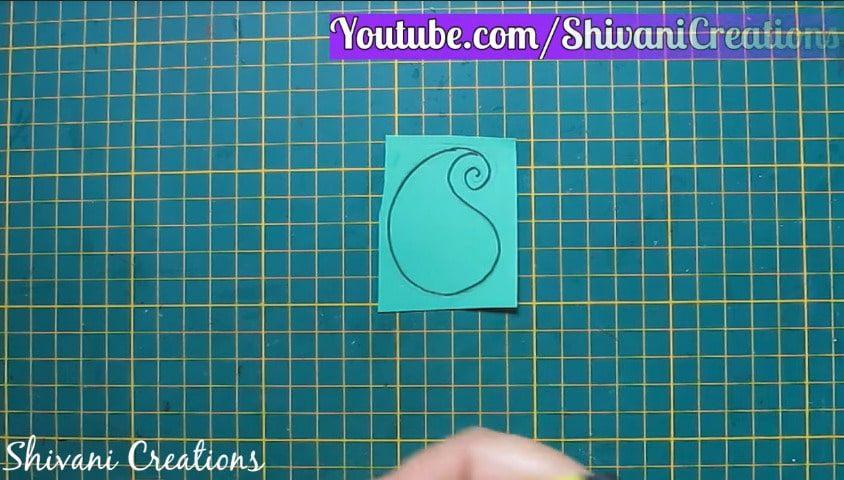 How to make paper quilling necklace set10