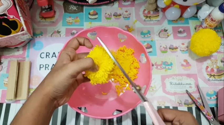 How to make pom pom chicken10