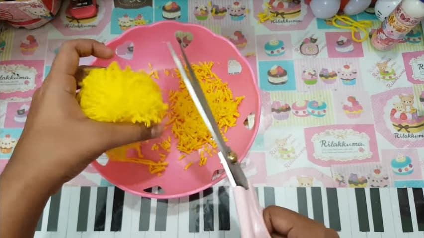 How to make pom pom chicken6
