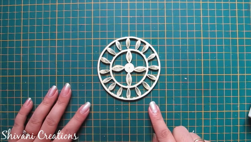 How to make quilled tricycle miniature plant stand14