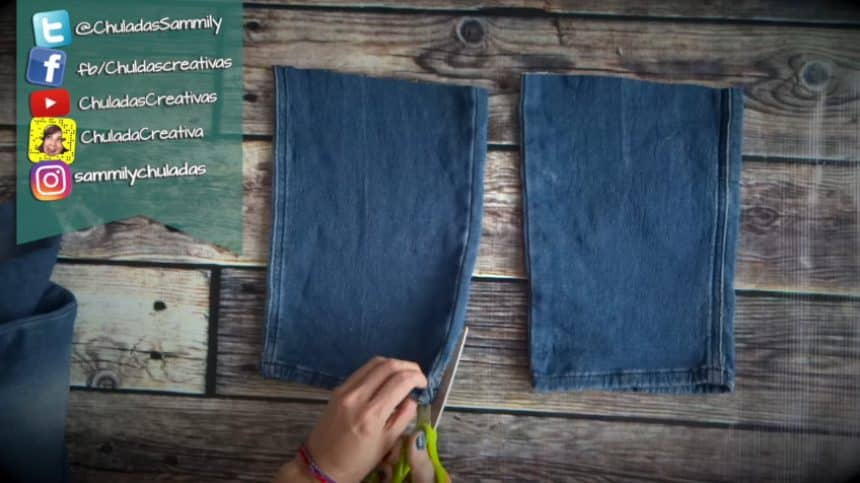 How to make summer bag with denim3