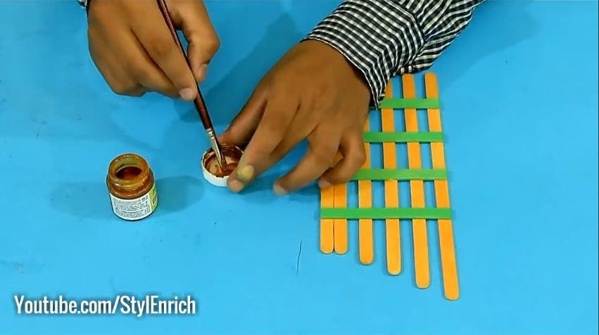 How to reuse cardboard to make jewelry organizer16