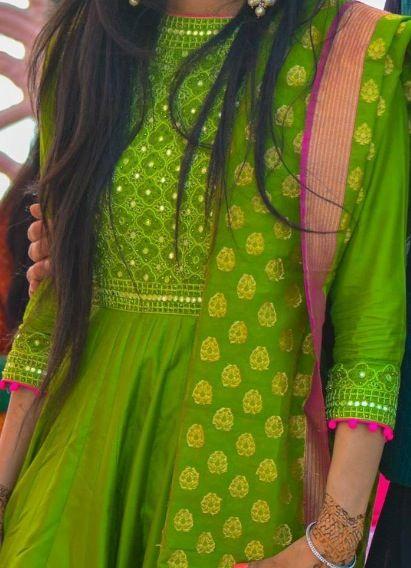 Latest ethnic designer kurta12
