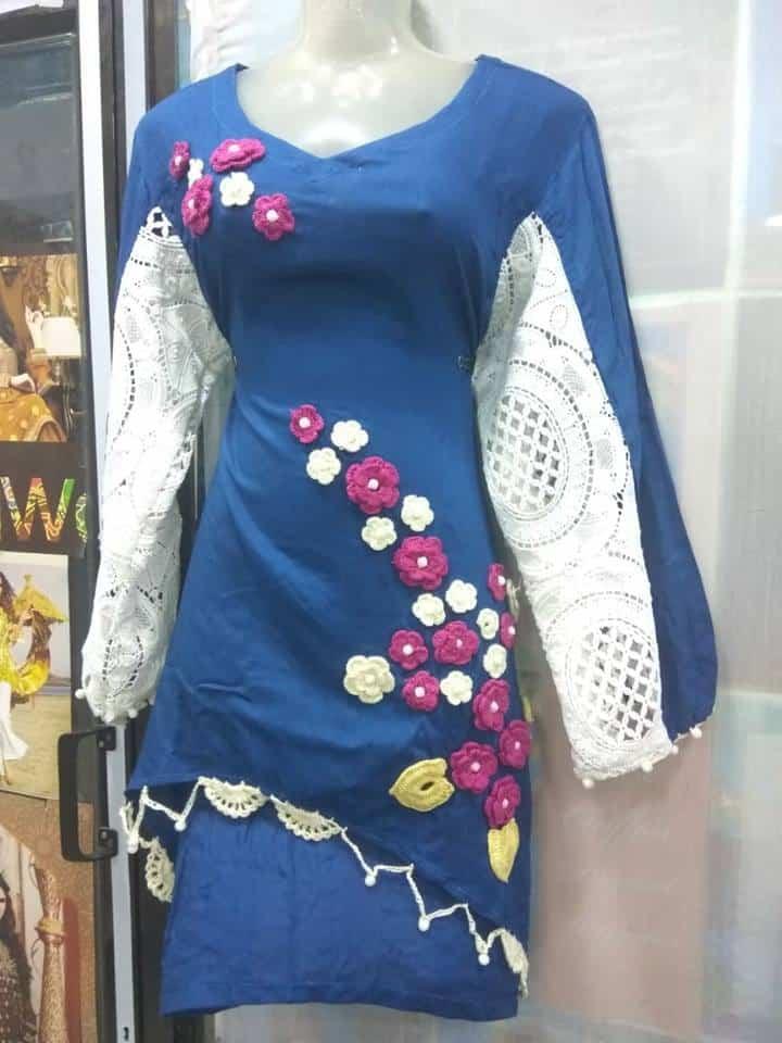 Latest kur17ti styles for women