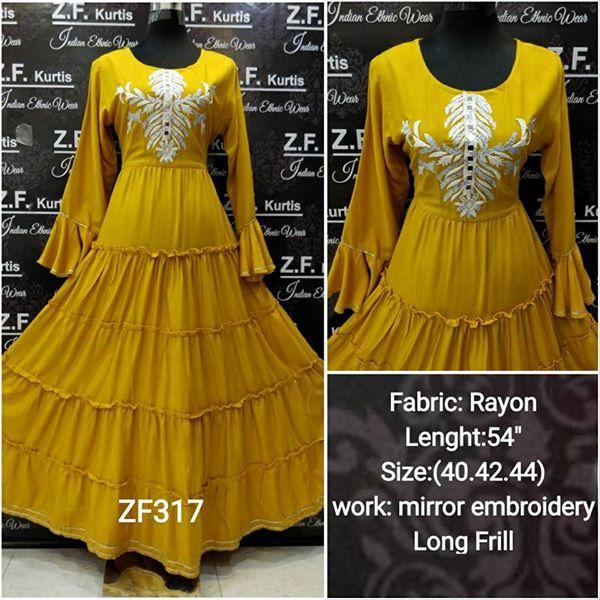 Latest kurti styles for women22