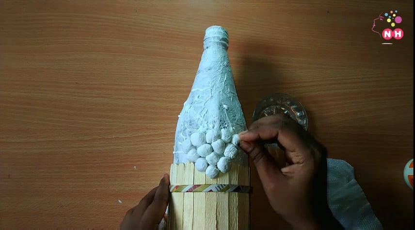 Waste glass bottle decoration Idea10