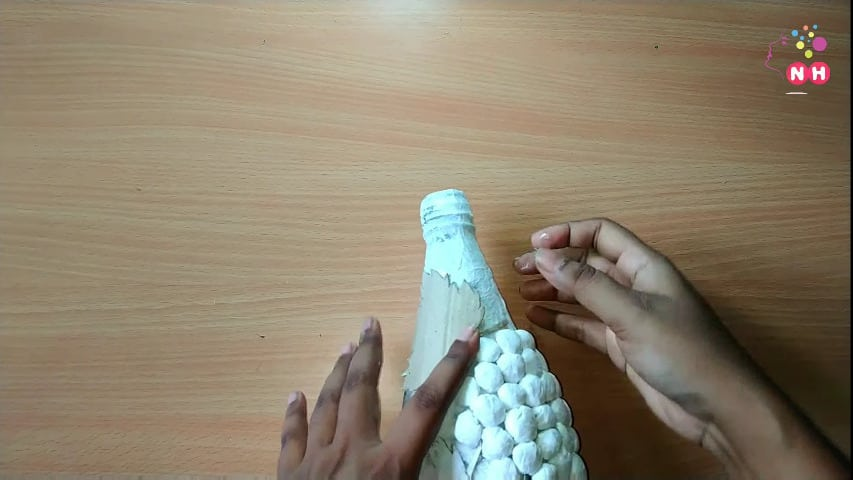 Waste glass bottle decoration Idea13