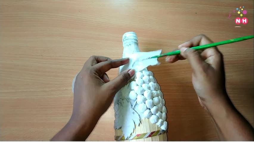 Waste glass bottle decoration Idea14