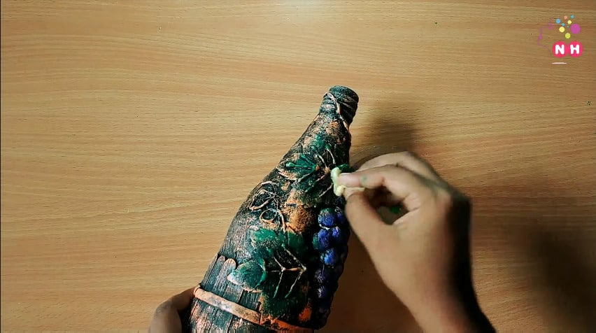 Waste glass bottle decoration Idea22