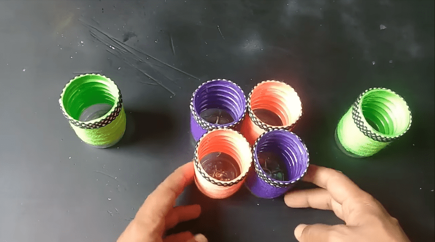 How to make an organizer from plastic bottle11