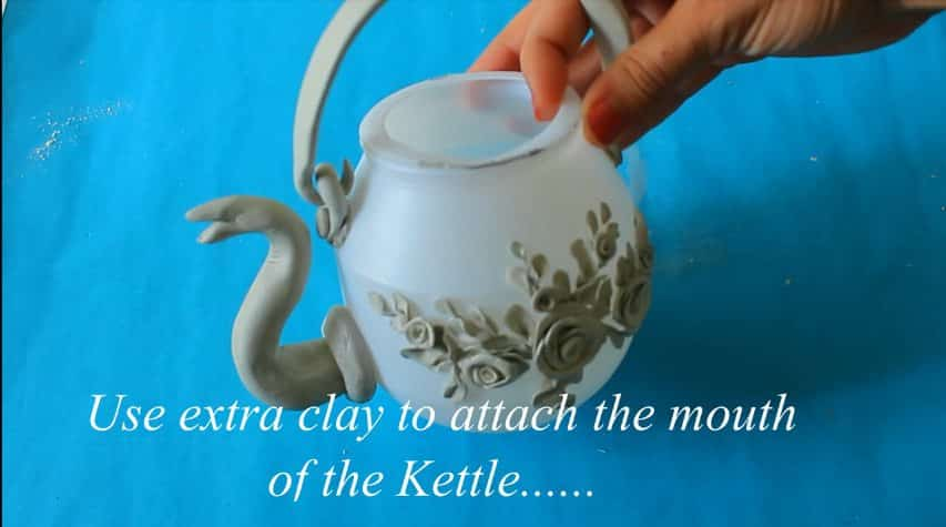 How to make decorative kettle using w17aste plastic