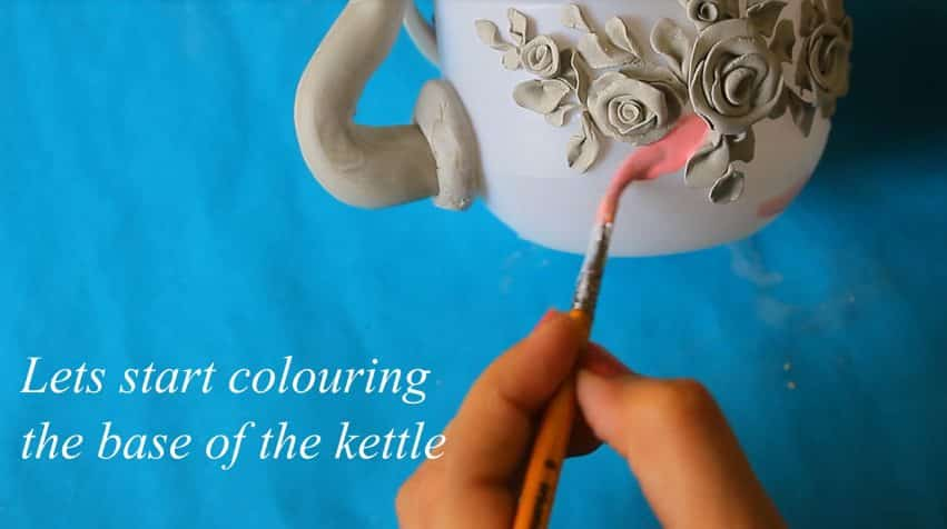 How to make decorative kettle using waste plastic18