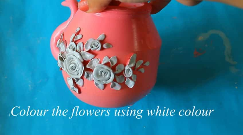 How to make decorative kettle using waste plastic19