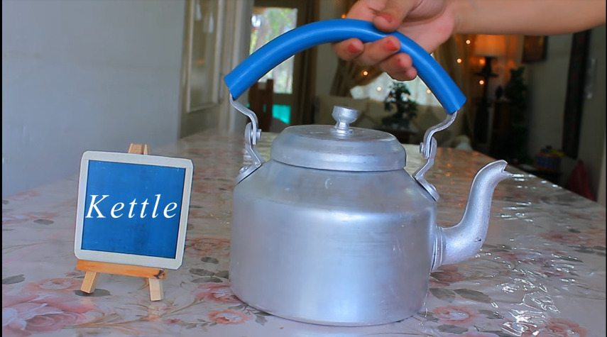 How to make decorative kettle using waste plastic2