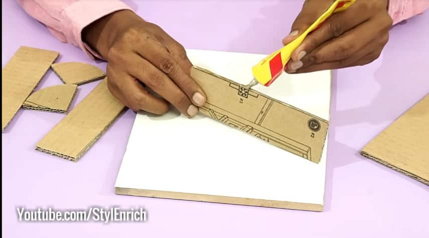 How to make unique key holder for wall3
