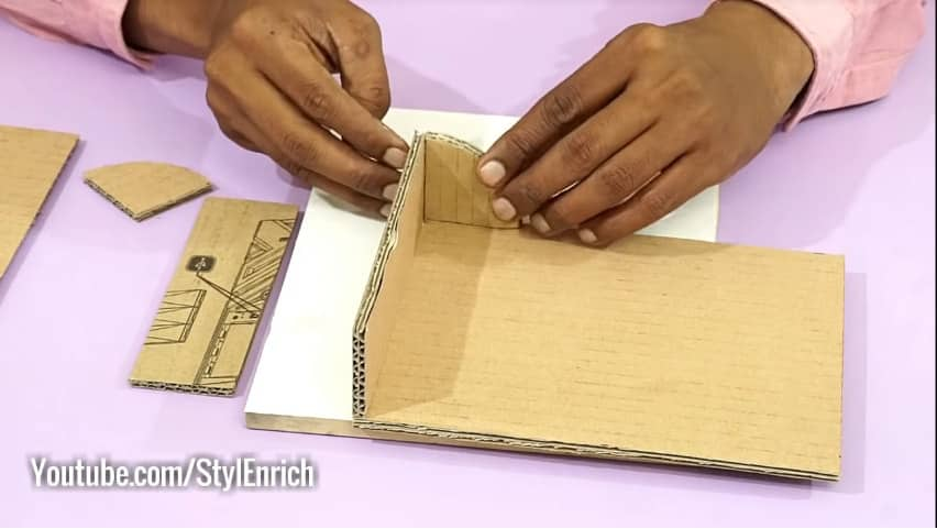 How to make unique key holder for wall4