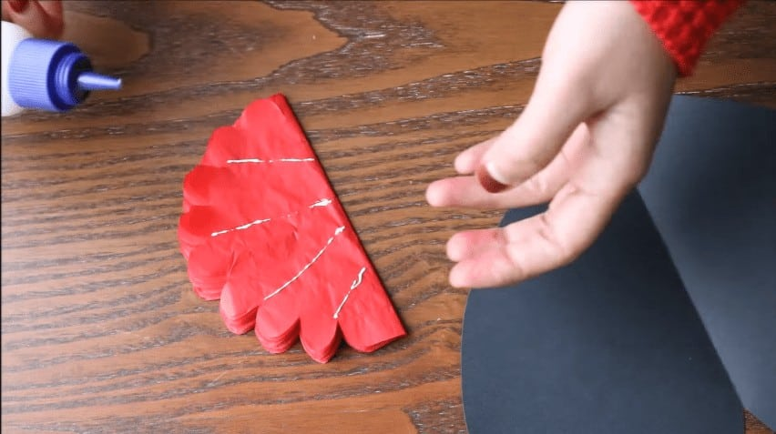 How to make flower pop up card