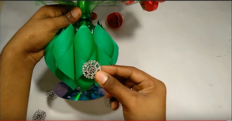 How to make paper flower bouquet