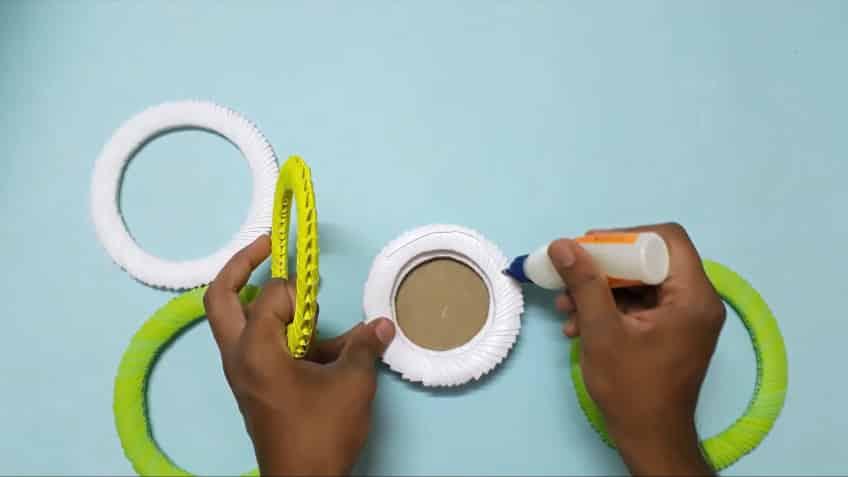 How to make paper flower vase