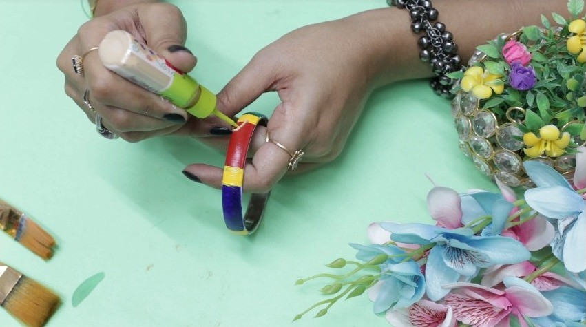 How to reuse old bangles