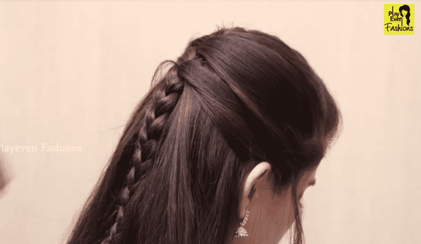 New braid hairstyle for girls