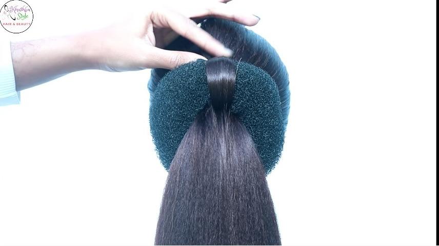 New Easy Bridal Bun Hairstyle for Medium Hair