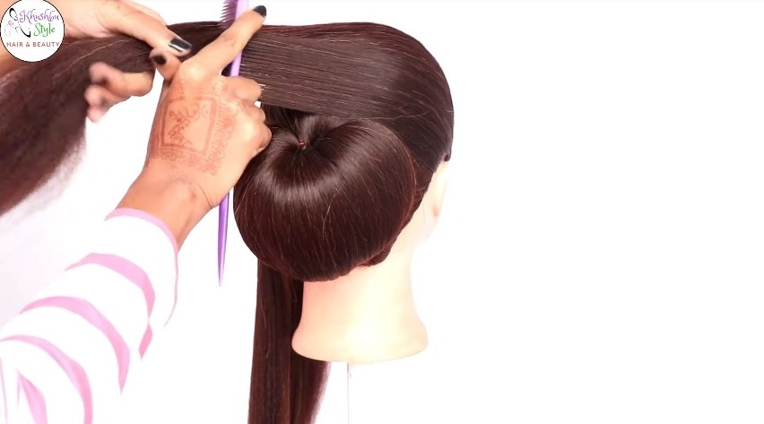 Very easy hairstyle using clutcher